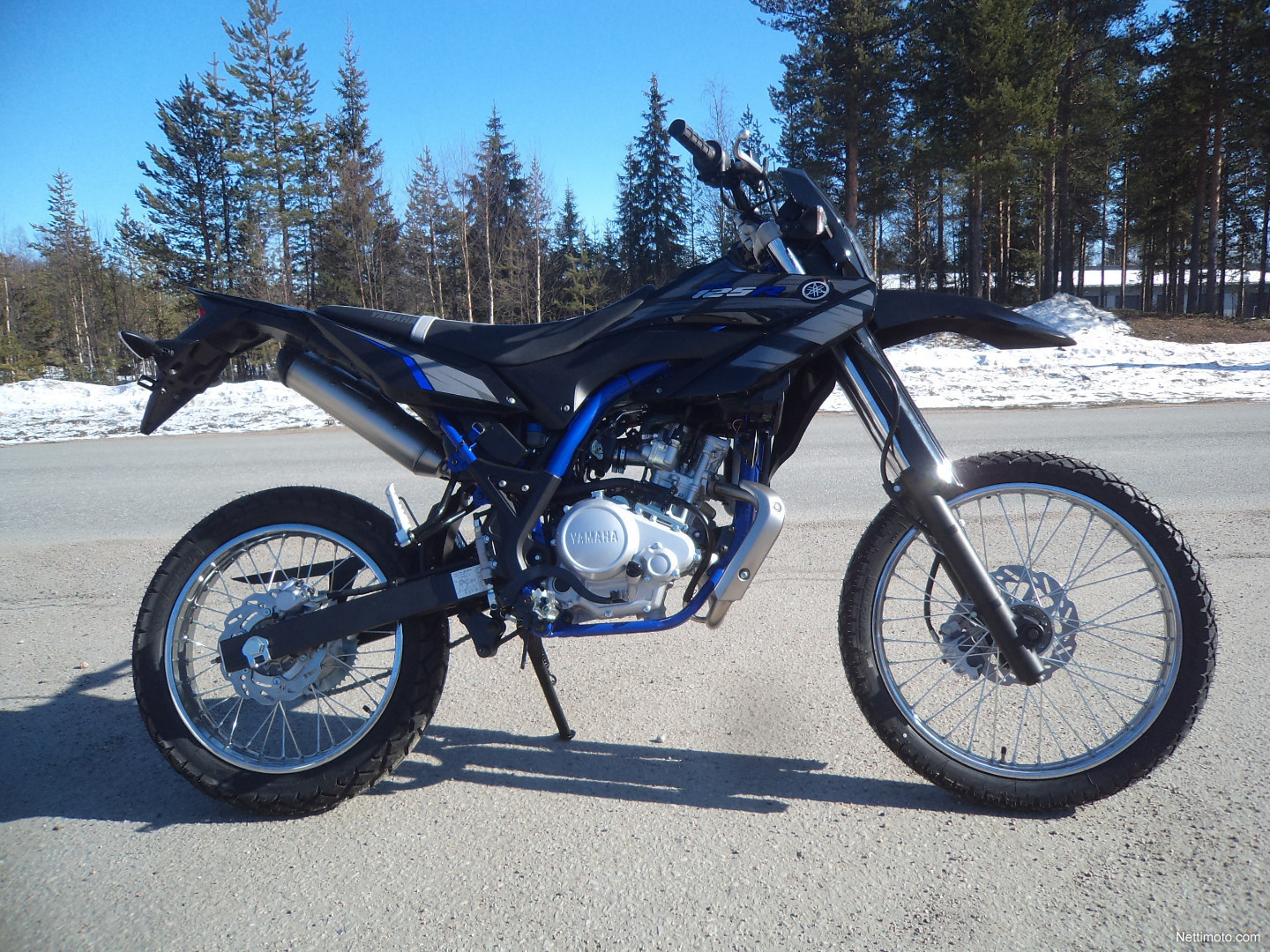 yamaha wr 125 r enduro 4 tahti startilla 125 cm 2016 rovaniemi motorcycle nettimoto. Black Bedroom Furniture Sets. Home Design Ideas