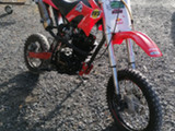 Samurai cross 150cc