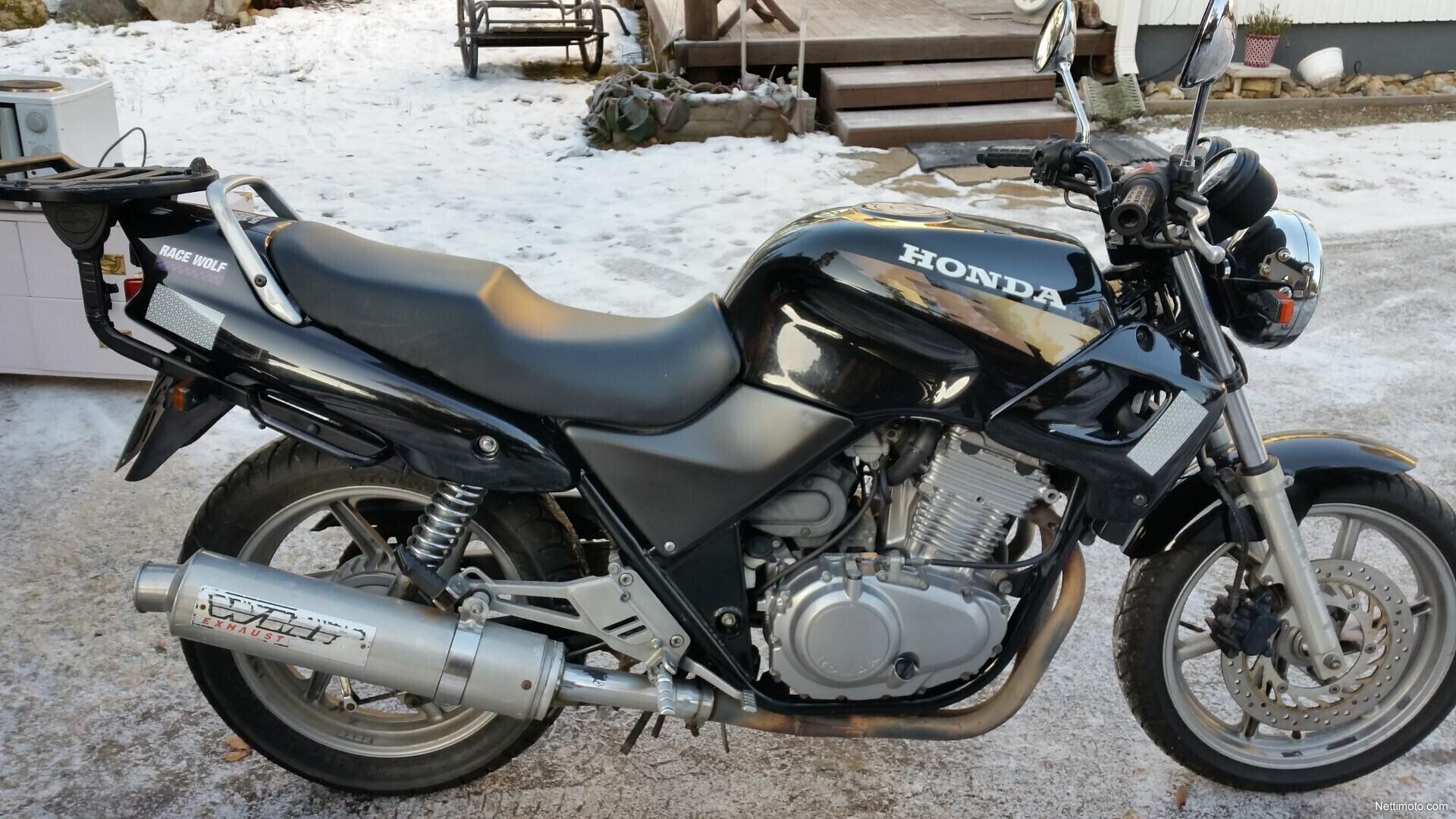 1996 Honda CB500 - Moto.ZombDrive.COM