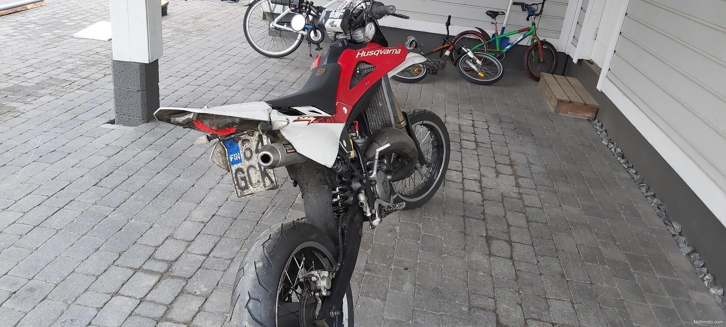 Husqvarna Sm 125 Cm U00b3 2008 - Kontiolahti - Moottoripy U00f6r U00e4
