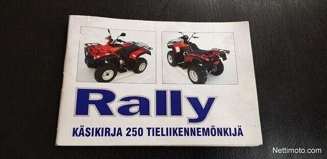 Rally Maantie Maastoliikennemönkijä