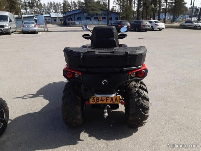 Can-Am Outlander Max Traktorimönkijä 500 EFI XT