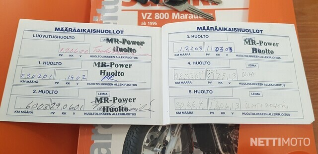 Suzuki VZ Custom/Chopper/Cruiser 800 Marauder