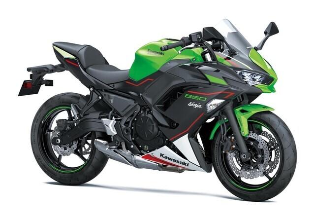 Kawasaki Ninja 2021, ,
