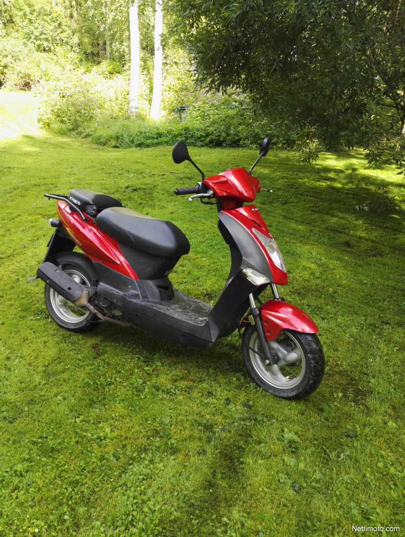 kymco agility 50 50 cm 2008 j ms moped nettimoto. Black Bedroom Furniture Sets. Home Design Ideas