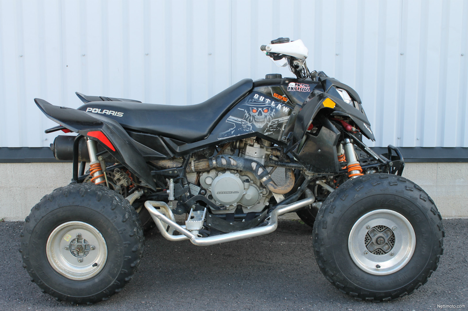 polaris outlaw 525 500 cm 2007 orimattila all terrain vehicle nettimoto. Black Bedroom Furniture Sets. Home Design Ideas