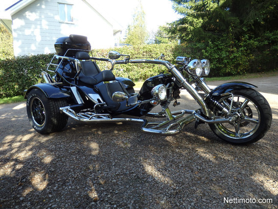 boom trike chopper low rider thunderbird 1 600 cm 2014 hausj rvi motorcycle nettimoto. Black Bedroom Furniture Sets. Home Design Ideas