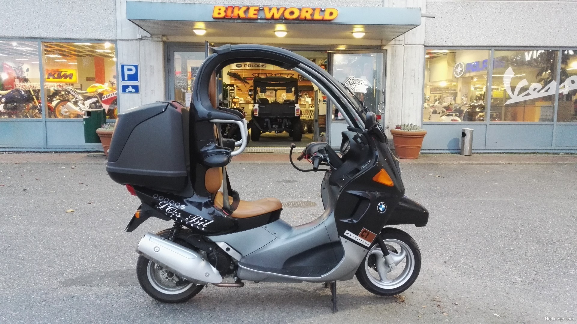 bmw c1 125 cm 2001 vantaa scooter nettimoto. Black Bedroom Furniture Sets. Home Design Ideas