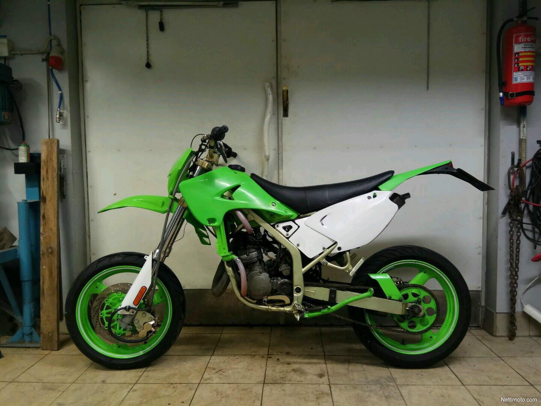 Kawasaki Kdx 125 Kx Tekniikalla 125 Cm U00b3 1994