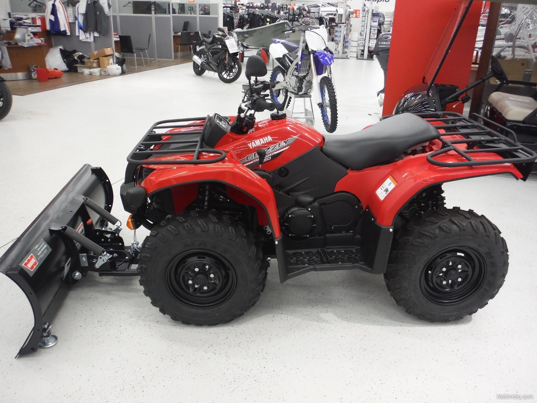 Yamaha grizzly 450 t3 traktori 450 cm 2016 kuopio for 2016 yamaha grizzly 450