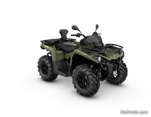 can am outlander l 450 pro t 3 traktori 450 cm 2018 outokumpu all terrain vehicle nettimoto. Black Bedroom Furniture Sets. Home Design Ideas