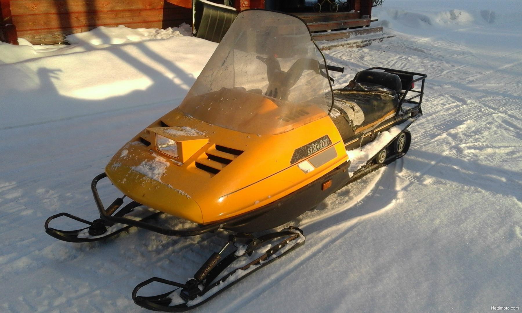 Yellow Ski Doo >> Ski-Doo Safari cheynne 500 cm³ 1990 - Ii - Snow Mobile - Nettimoto