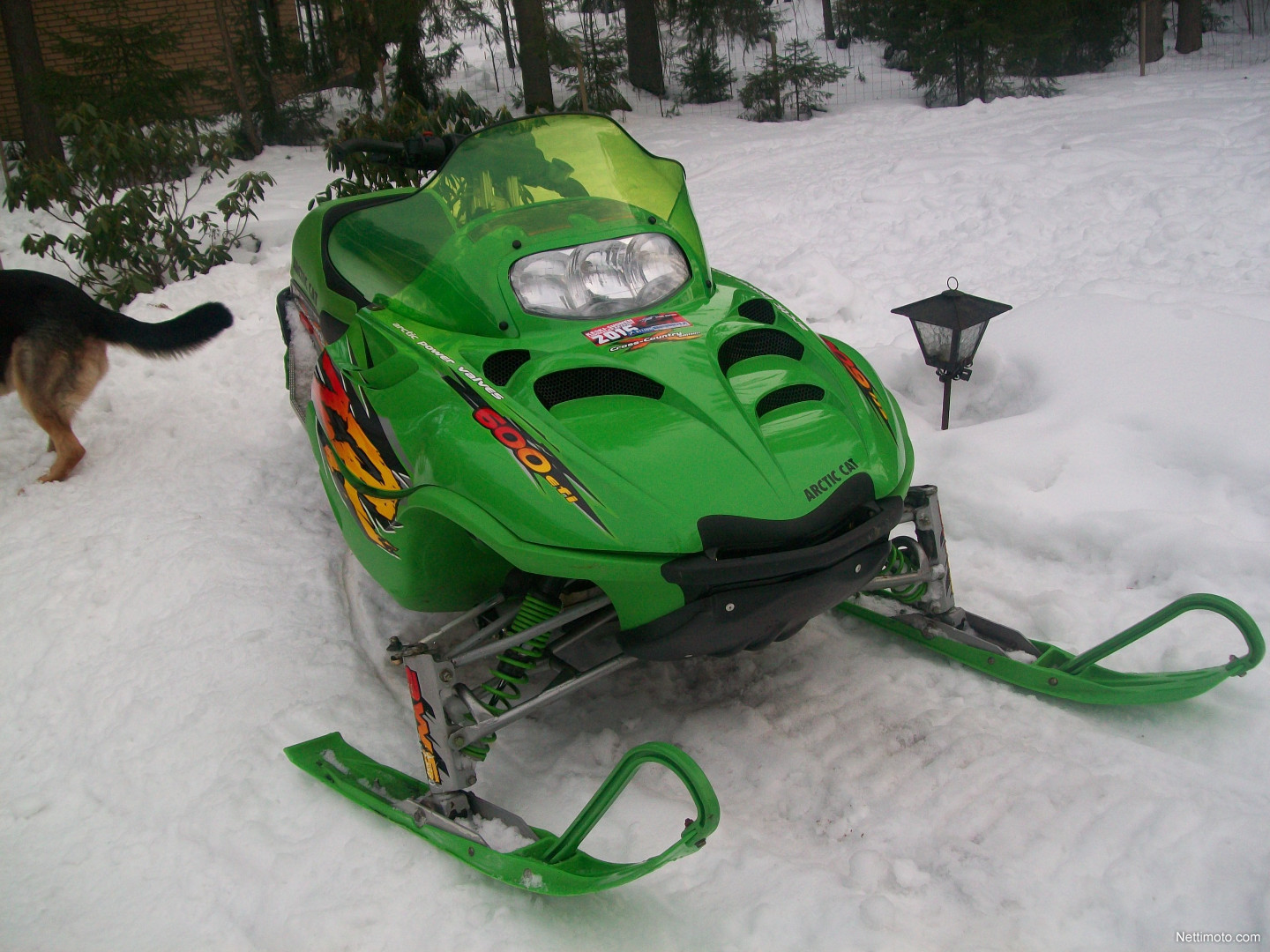 Arctic Cat Zr  Cross Country Edition