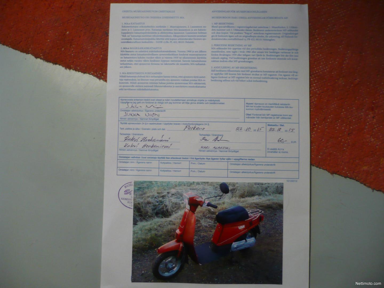Suzuki Love Museoajoneuvo 50 Cm 1984 Parkano Scooter Nettimoto 1982 Moped