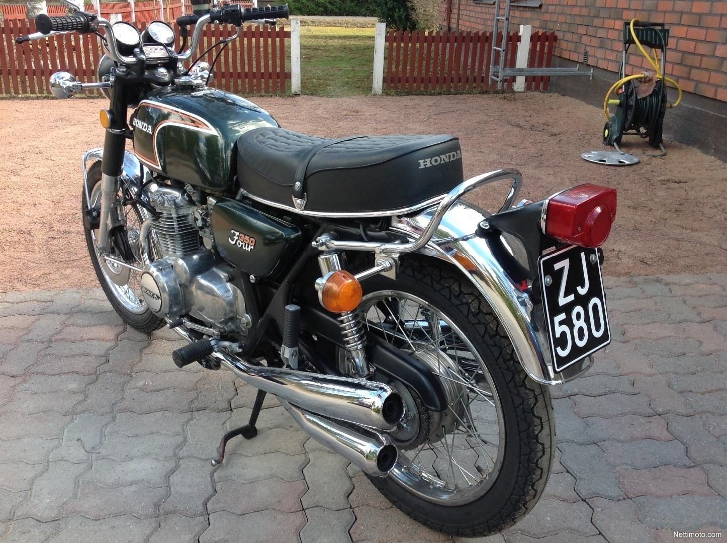 honda cb 350 four 350 cm 1974 hyvink motorcycle. Black Bedroom Furniture Sets. Home Design Ideas