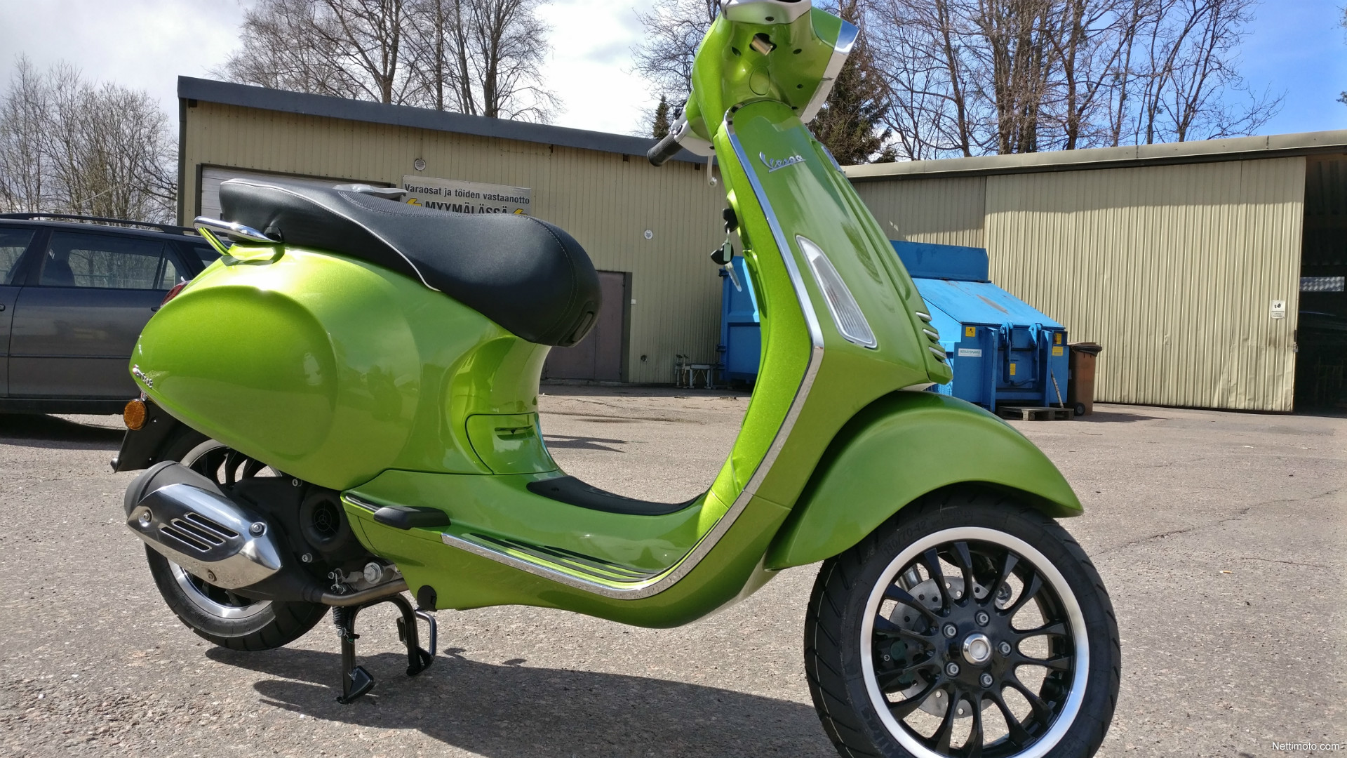 vespa sprint 50 4t 50 cm 2017 kotka scooter nettimoto. Black Bedroom Furniture Sets. Home Design Ideas