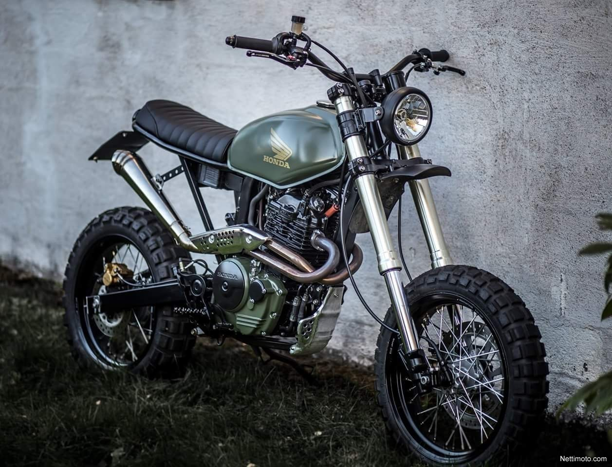 honda fmx 650 scrambler 650 cm 2005 kouvola. Black Bedroom Furniture Sets. Home Design Ideas