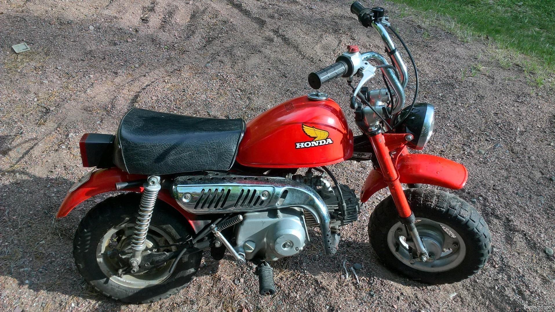 Honda Monkey 50 50 cm³ 1981 - Turku - Mopo - Nettimoto