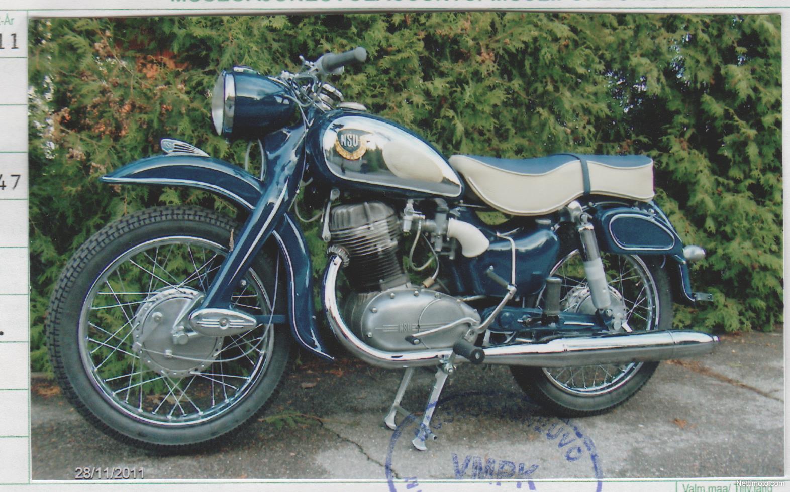 nsu supermax 250 250 cm 1961 helsinki motorcycle. Black Bedroom Furniture Sets. Home Design Ideas