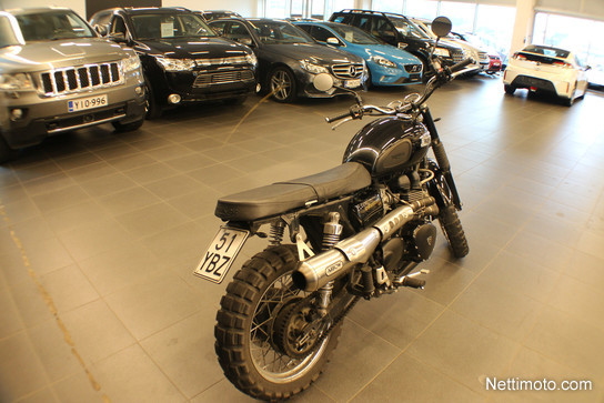 Triumph Scrambler 900 Vintage. 900 cm³ 2012 - Tampere - ATT Autotalo Tampere - Moottoripyörä