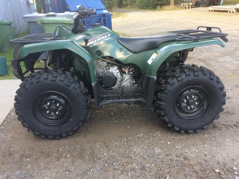 Yamaha grizzly 350 4x4 irs erillisjousitettu kuin uusi 350 for Yamaha 350 grizzly