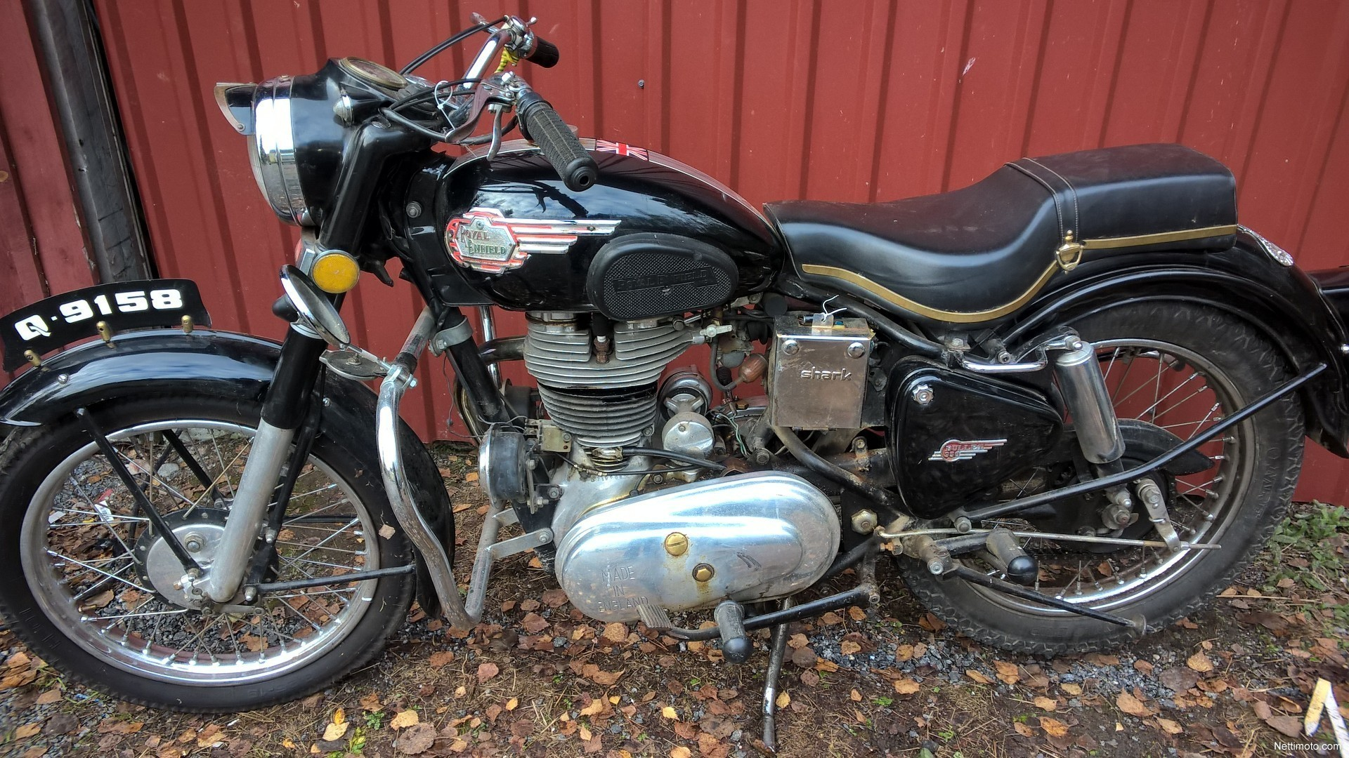 Royal Enfield Bullet 350 Cm 179 1957 Ristiina Motorcycle border=