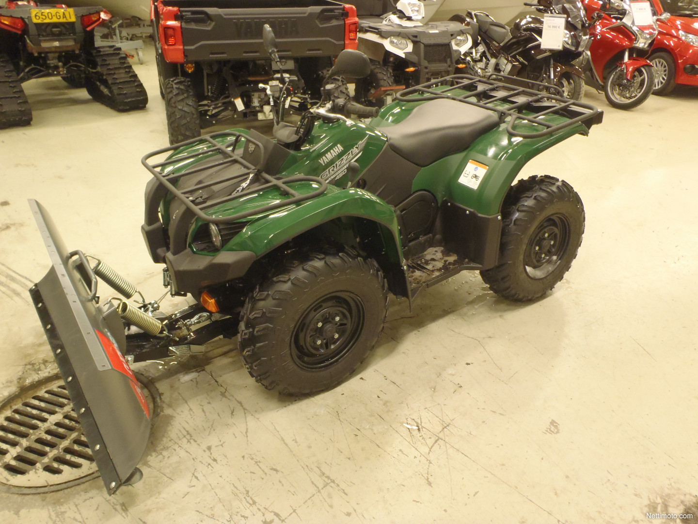 Yamaha grizzly 450 eut 40km h 450 cm 2017 lahti for Yamaha grizzly 80