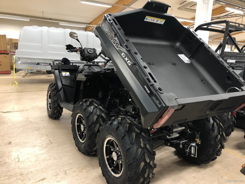 polaris sportsman 570 eps 6x6 eut big boss le 570 cm 2018 kemij rvi all terrain vehicle. Black Bedroom Furniture Sets. Home Design Ideas
