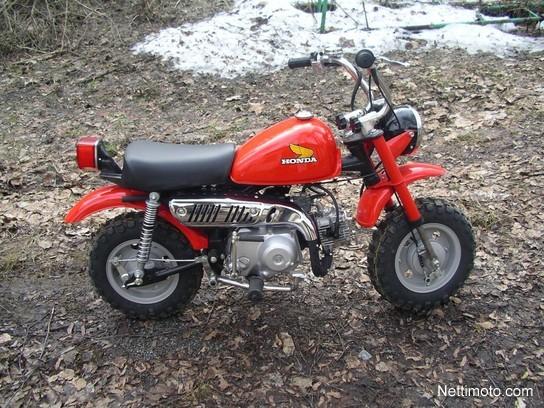 Honda Monkey 50 5kpl entisöityjä 50 cm³ 1977 - Kuusankoski - Mopo - Nettimoto