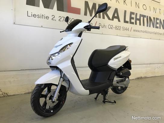 peugeot kisbee 50 4t e4 2018 50 cm 2018 rauma scooter nettimoto. Black Bedroom Furniture Sets. Home Design Ideas