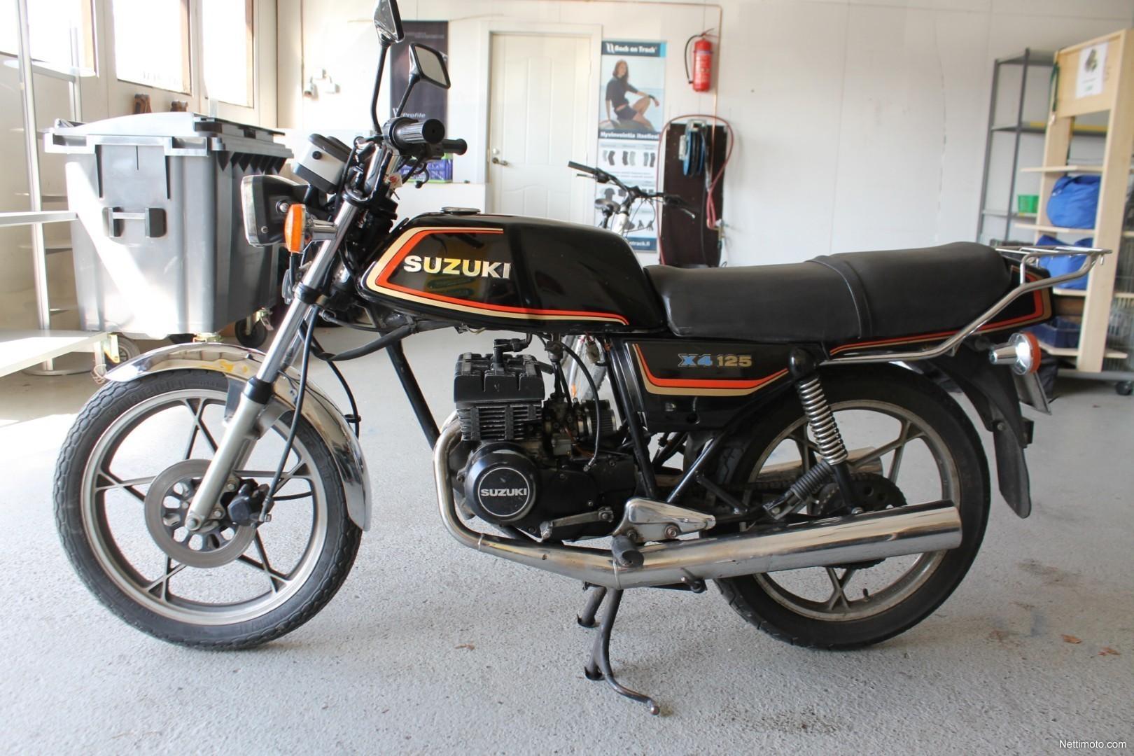suzuki gt x4 125 gt 125 cm 1982 kempele motorcycle. Black Bedroom Furniture Sets. Home Design Ideas