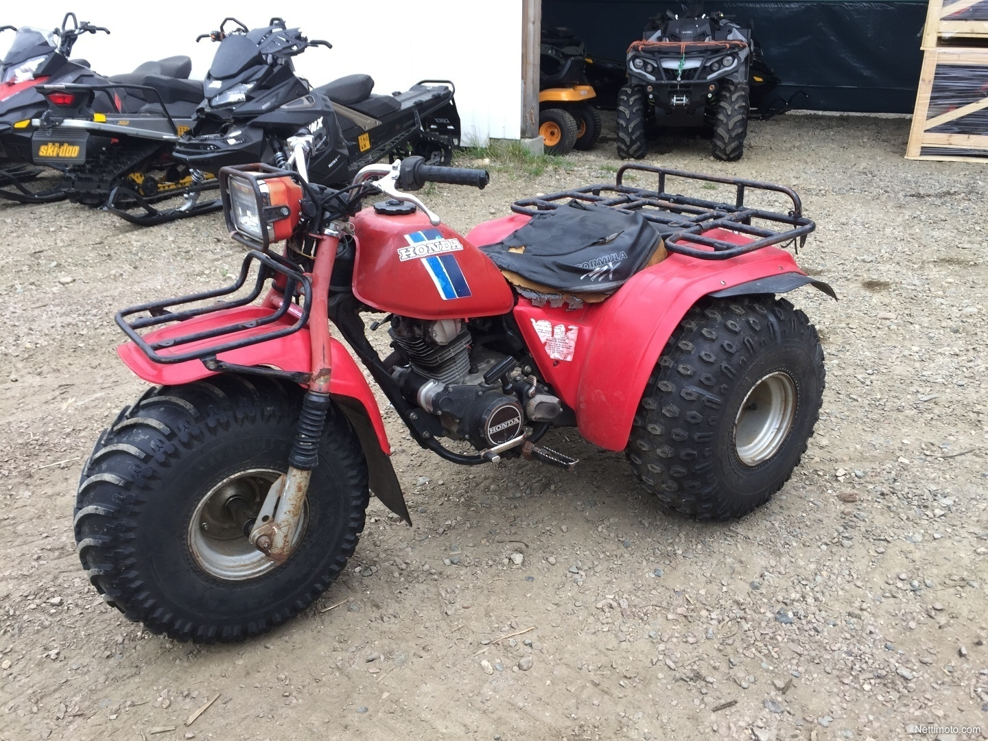 Previous; Next. Honda ATC Big Red ...
