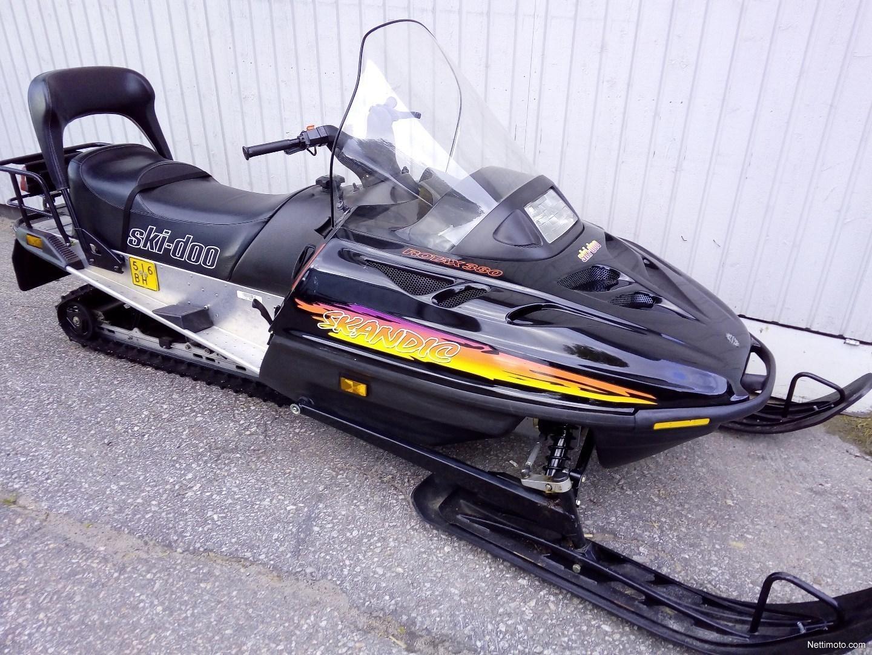 ski doo skandic skandic 380 400 cm 1996 muonio snow mobile rh nettimoto com 97  Ski-Doo Touring E 1997 Ski-Doo Touring E