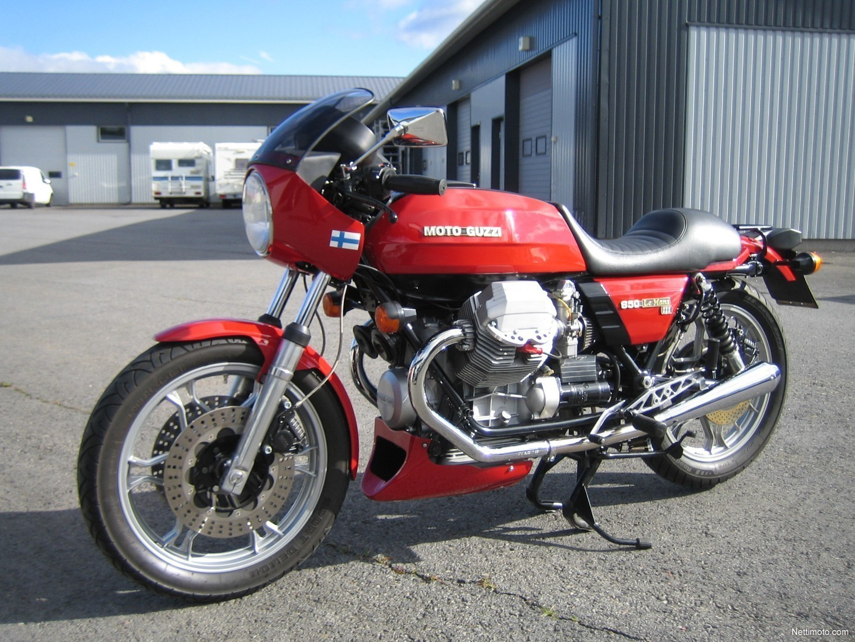 moto guzzi le mans le mans 3 850 cm 1982 sein joki motorcycle nettimoto. Black Bedroom Furniture Sets. Home Design Ideas
