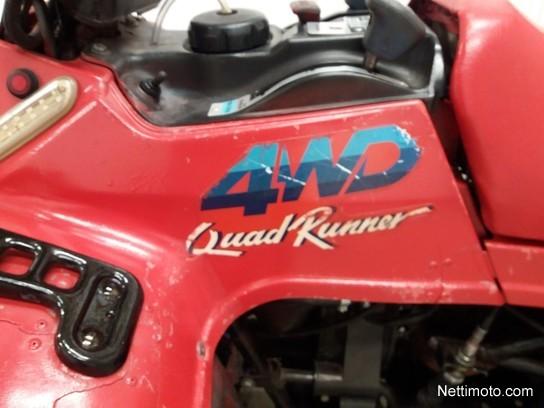Suzuki Quad Runner 250 4 WD 250 cm³ 1990 - Mustasaari - All Terrain