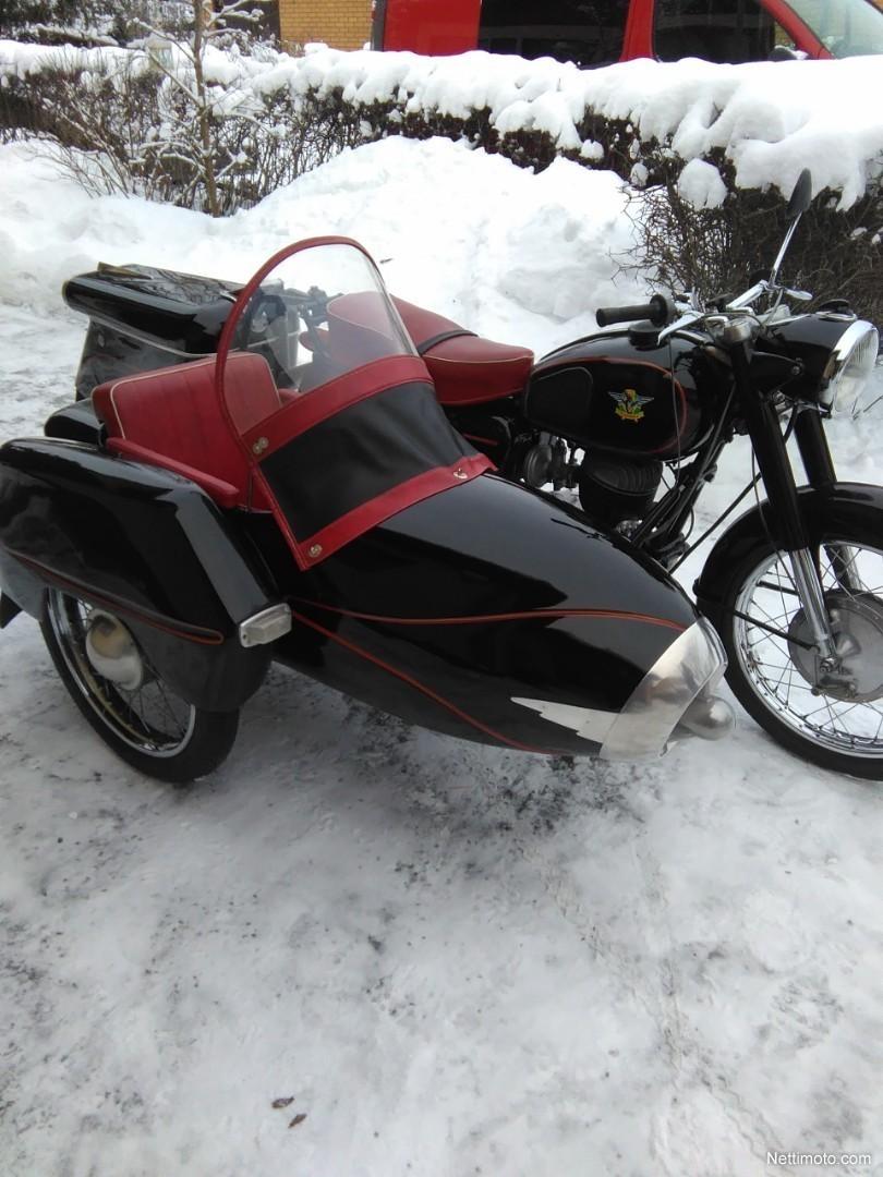 Sivuvaunu Moottoripyörä