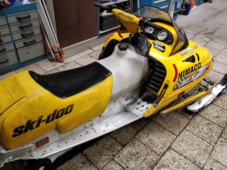 Ski Doo MX Z Mxzx 440 Rave 450 Cm 1997
