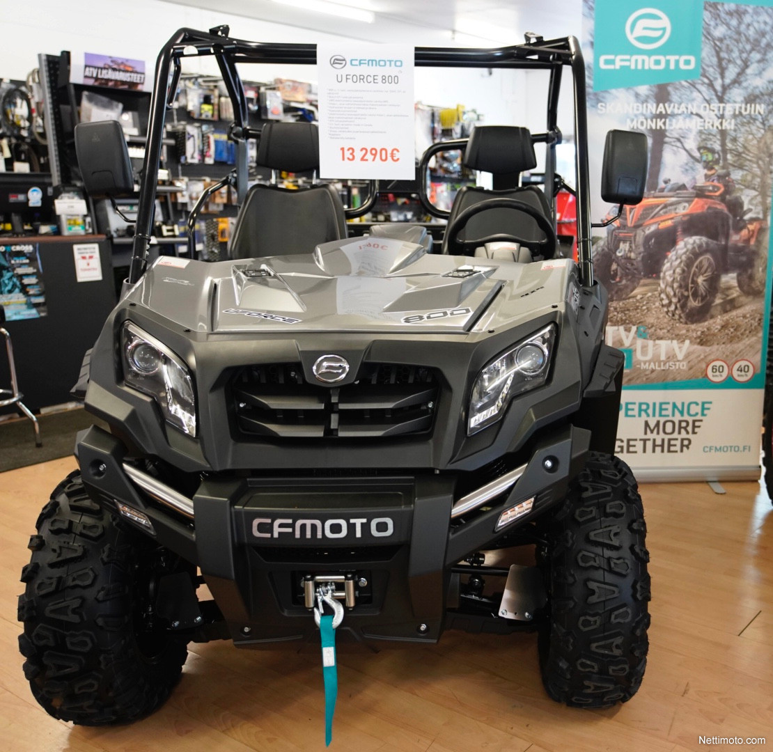 CFMoto U Force Traktorimönkijä