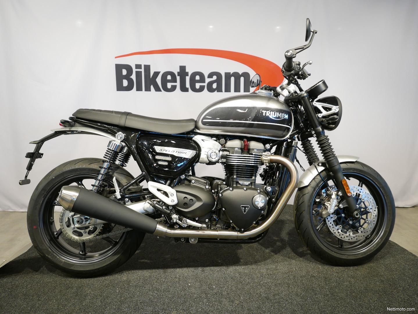 Triumph Speed Twin 1200 1 200 Cm³ 2019 Vantaa Motorcycle Nettimoto