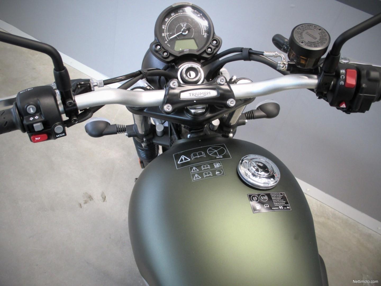 Scrambler Moottoripyörä