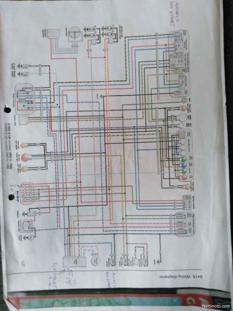 Yamaha Xj 600 Wiring Diagram. Kawasaki Wiring Diagram, Honda ... on