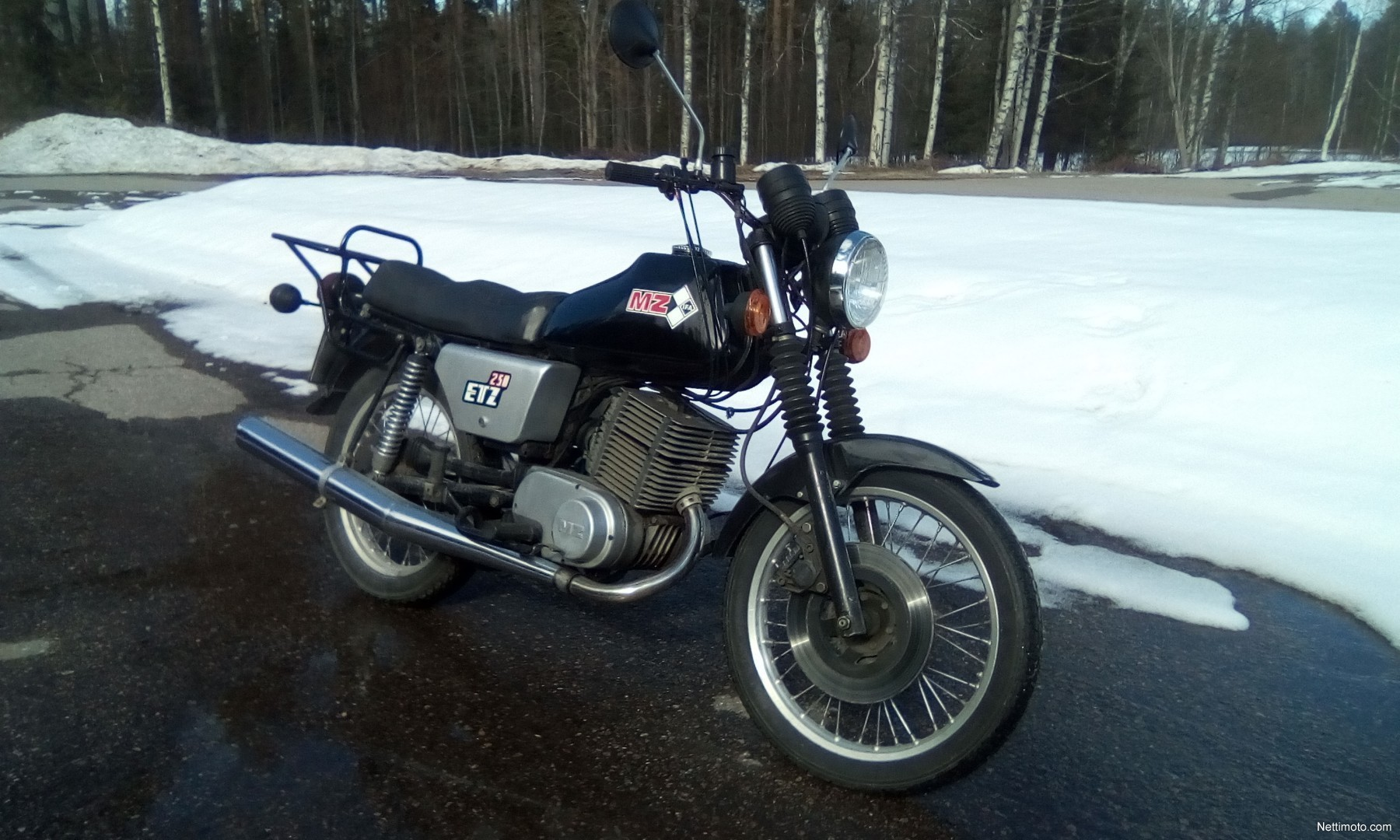 MZ ETZ 250 250 cm³ 1984 - Keuruu - Moottoripyörä - Nettimoto