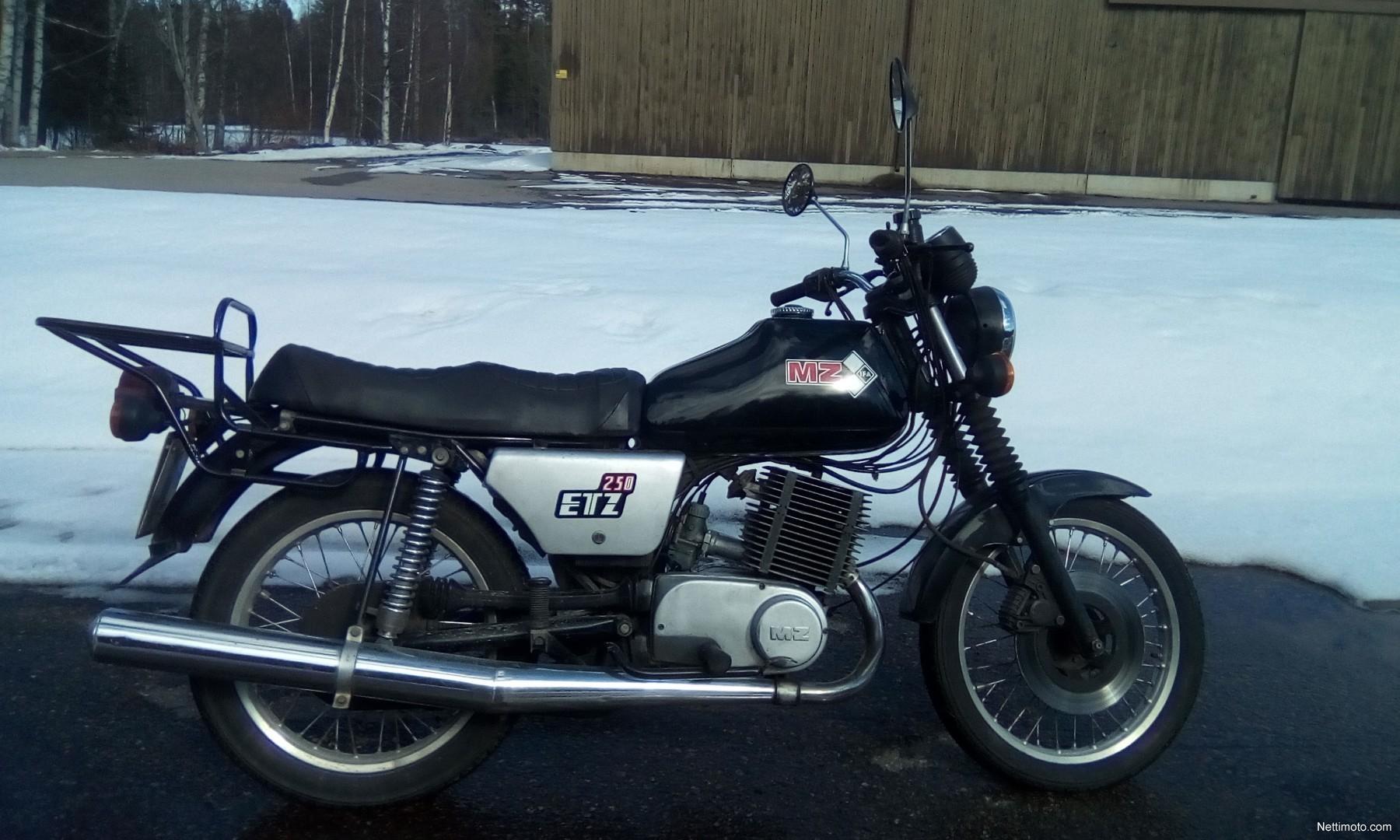 MZ ETZ 250 cm³ 1984 - Nurmijärvi - Moottoripyörä - Nettimoto