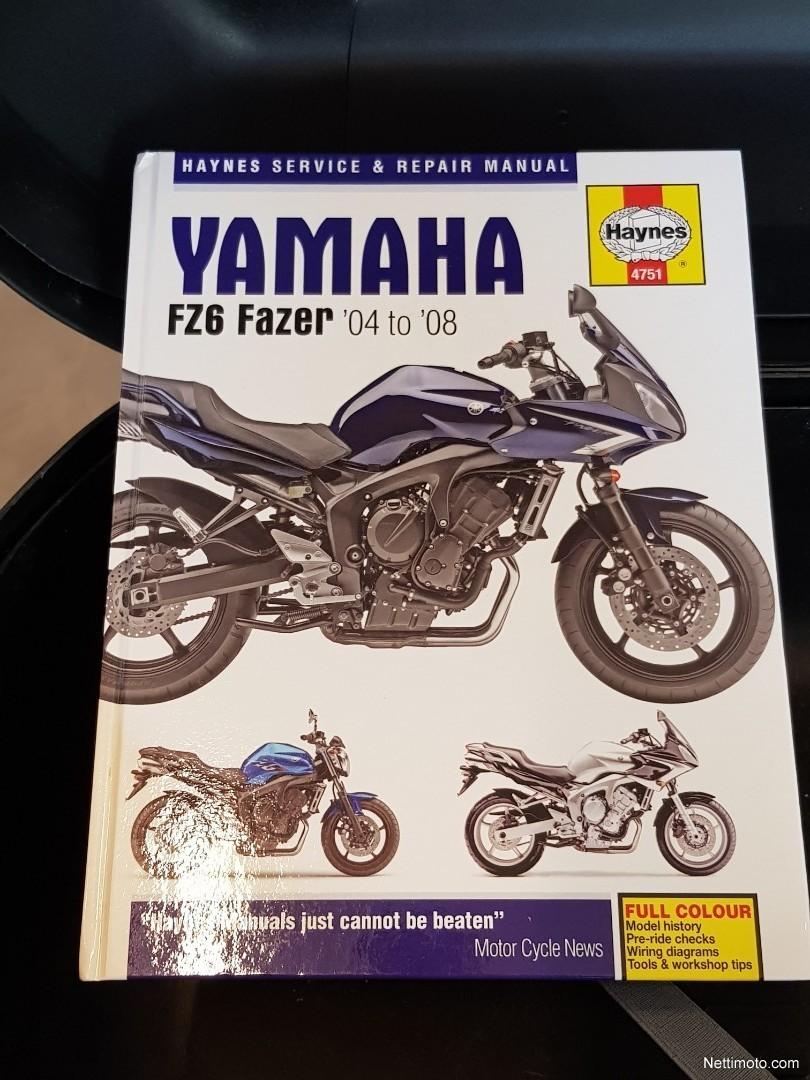 Swell Yamaha Fz6 S Tosi Siisti 600 Cm3 2006 Rauma Motorcycle Nettimoto Wiring Database Gramgelartorg