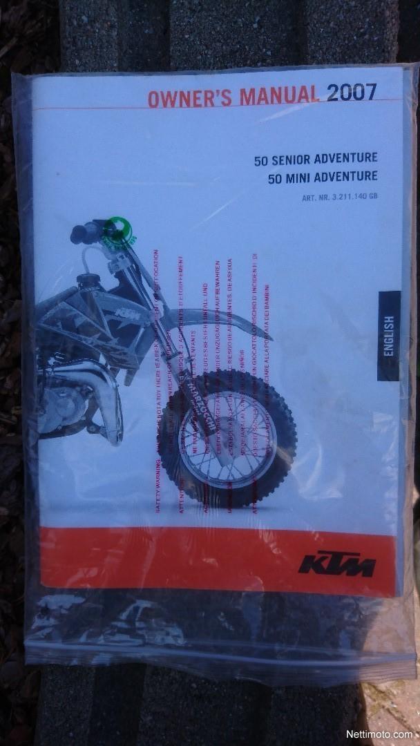 KTM 50 SX Senior Adventure 50 cm³ 2007 - Kuopio - Motorcycle