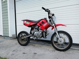 Samurai cross 110cc