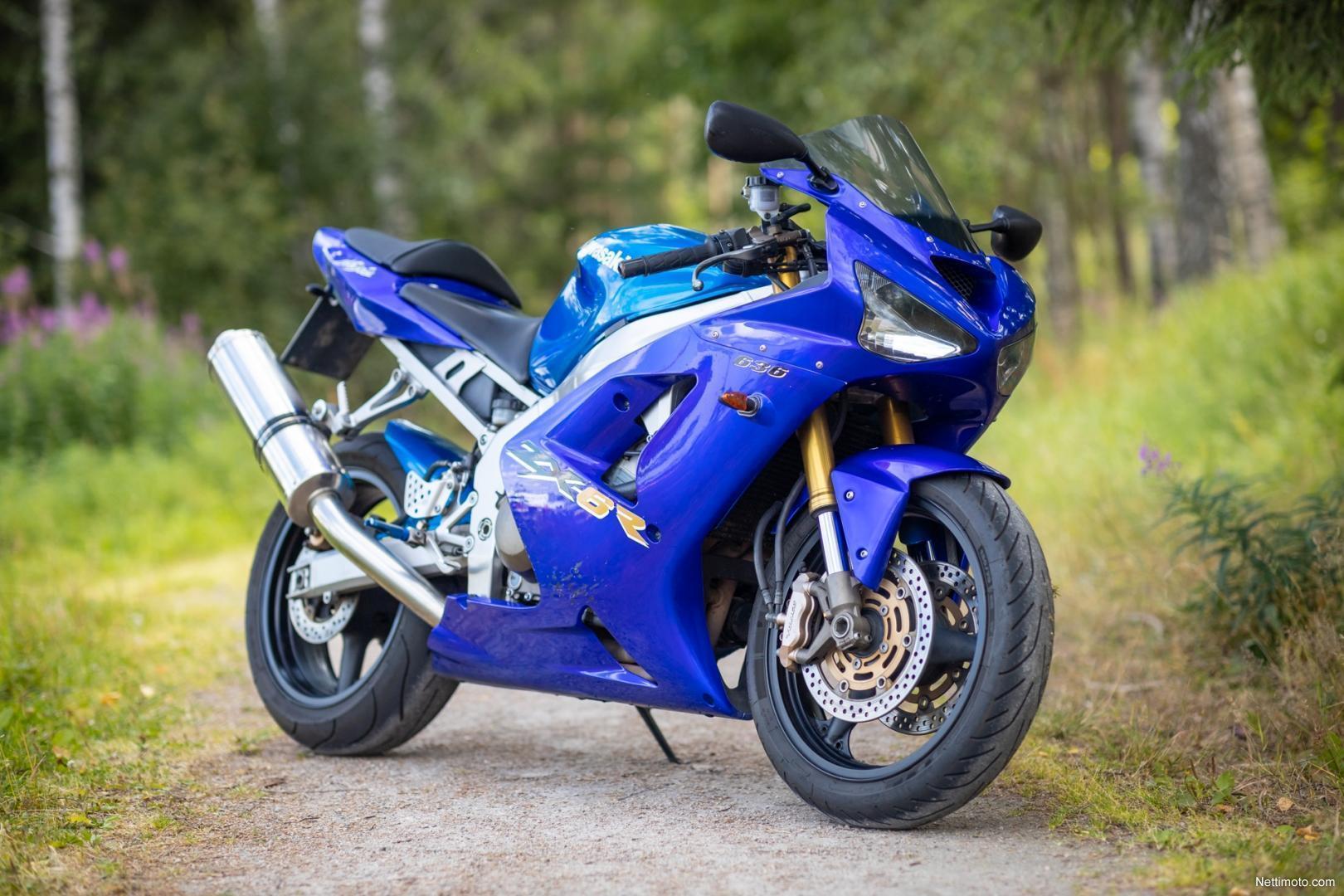 KAWASAKI ZX-6R 636 2003 600 cm3   moto sportive   30 100