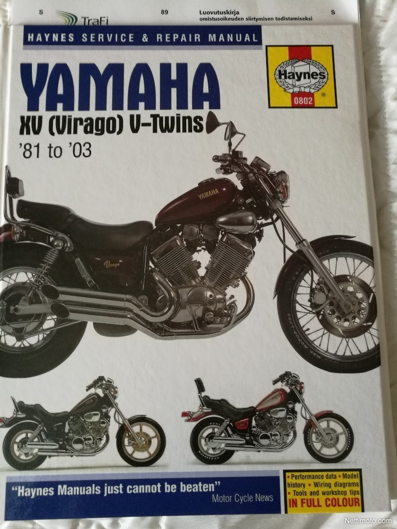 Yamaha XV 535 Virago 550 cm³ 1997 - Nurmijärvi - Motorcycle ... on